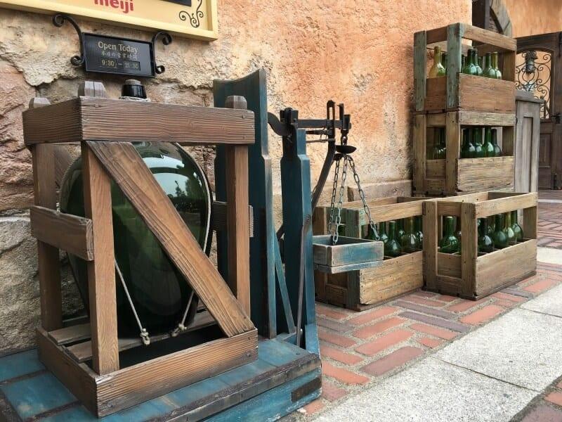 Wine Bottles Zambini Brothers Ristorante Tokyo DisneySea