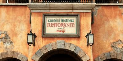 Zambini Brothers' Ristorante Review at Tokyo DisneySea