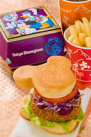 Tomorrowland Terrace Special Set ¥980 Includes Miso Mince Cutlet Sandwich French Fries Soft Drink Available from the Tomorrowland Terrace