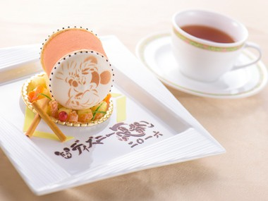Summer Festival Cake Set ¥1,240 Available between 12.00 pm - 11.00 pm at the Hyperion Lounge