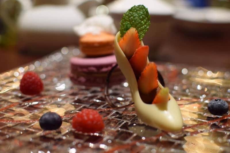 Cinderella Glass Slipper Dessert Royal Banquet Hall Shanghai Disneyland