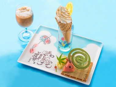 Summer Festival Dessert Set ¥1,800 Available between 12.00 pm - 1.0.00 pm at the Hyperion Lounge