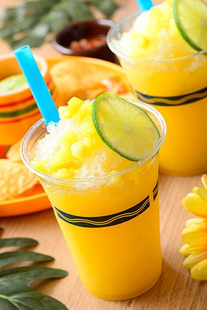 Frozen Cocktail (Orange & Pineapple)¥680 Available from Miguel's El Dorado Cantina