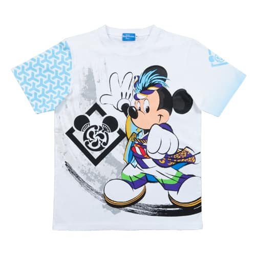 Mickey T-Shirt Sizes 100, 110, 120 CM ¥1,900 130, 140, 150 CM ¥2,300 S, M, L, LL ¥2,600 3L ¥2,900 Please note sizes may differ to your own country