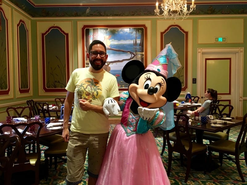 Minnie Mouse Royal Banquet Hall Shanghai Disneyland