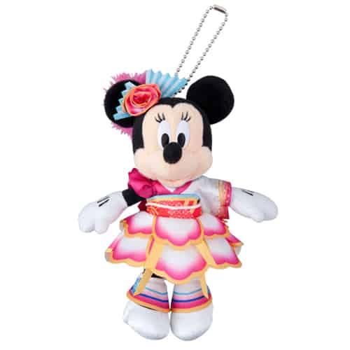 Minnie Stuffed Badge ¥1,700
