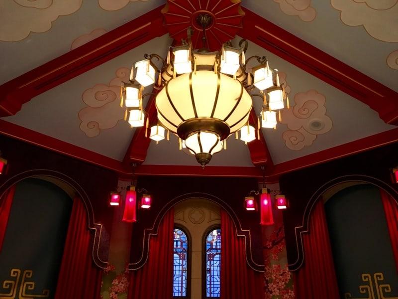 Mulan Ceiling Royal Banquet Hall Shanghai Disneyland