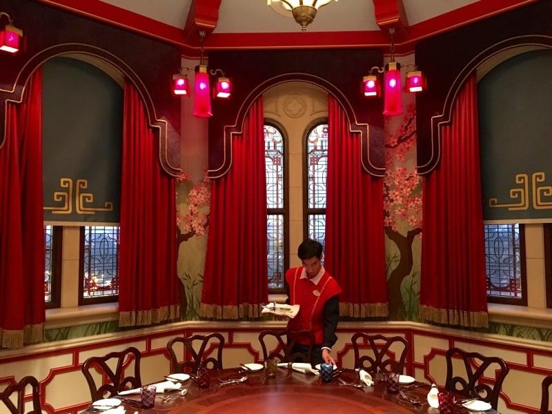 Mulan Hall Royal Banquet Hall Shanghai Disneyland