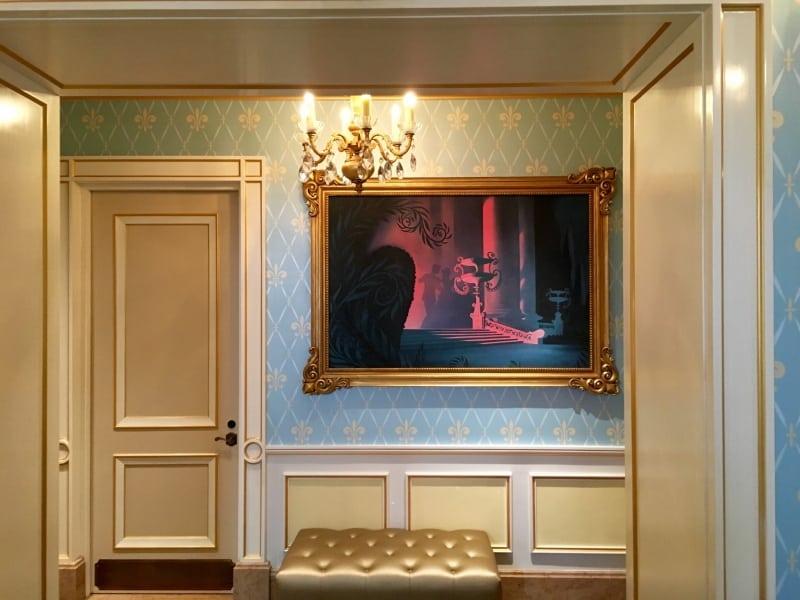 Restroom Entrance Royal Banquet Hall Shanghai Disneyland