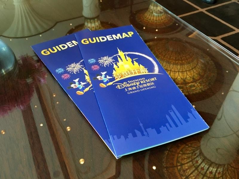 Shanghai Disneyland Grand Opening Park Maps