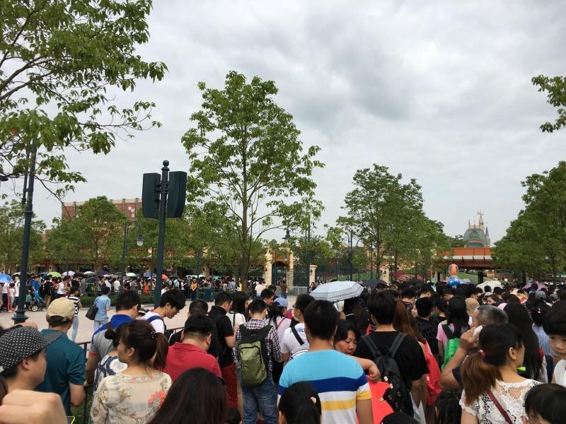 Shanghai Disneyland Guests