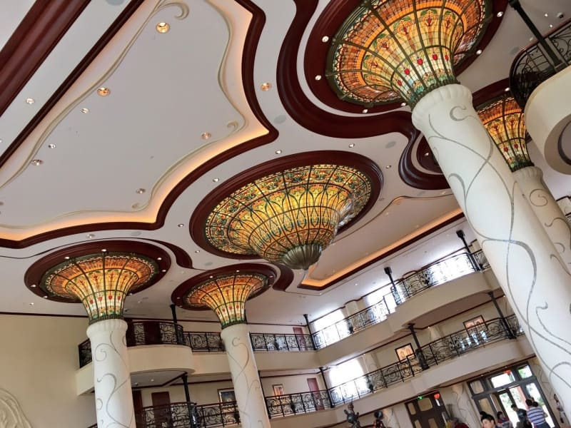 Shanghai Disneyland Hotel Lobby