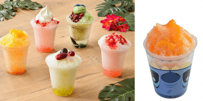Shaved Ice for Summer 2016 at Tokyo Disney Resort – Featuring Stitch!