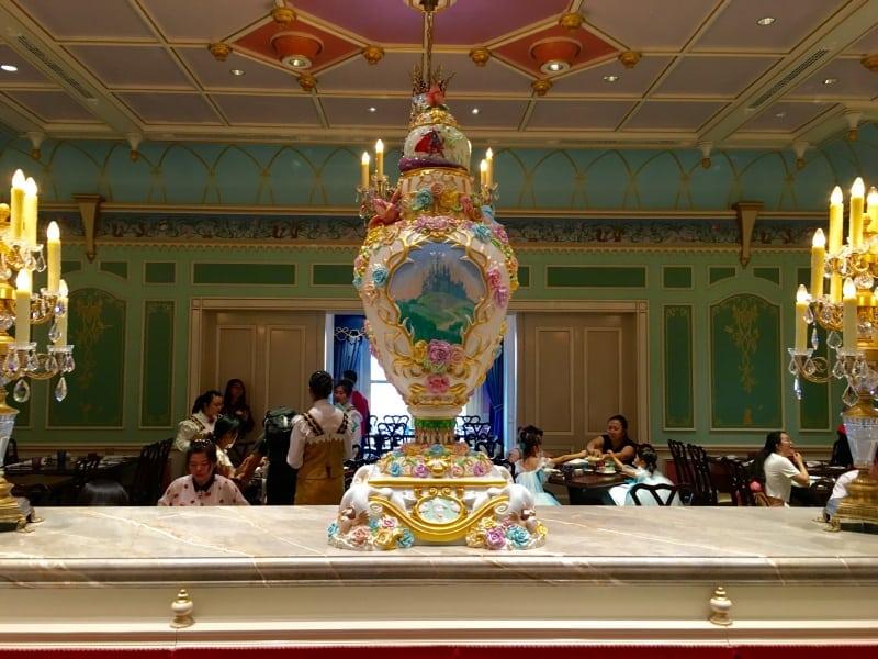 Sleeping Beauty Vase Royal Banquet Hall Shanghai Disneyland