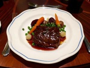 Slow Cooked Beef Short-rib Garden Vegetables Royal Banquet Hall Shanghai Disneyland