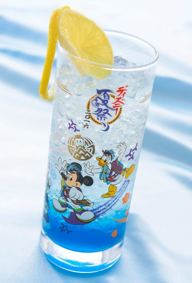 Summer Festival Special Non-Alcoholic Cocktail with Collectible Glass ¥1,860 Available between 12.00 pm - 11.00 pm at the Hyperion Lounge