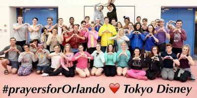Tokyo Disney Resort Cast Members Show Support for Orlando