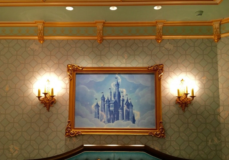Waiting Room Painting Seating Area Royal Banquet Hall Shanghai Disneyland