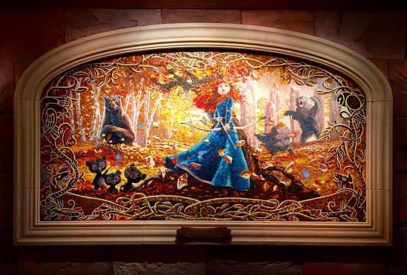 Brave Mural Shanghai Disneyland Grand Opening