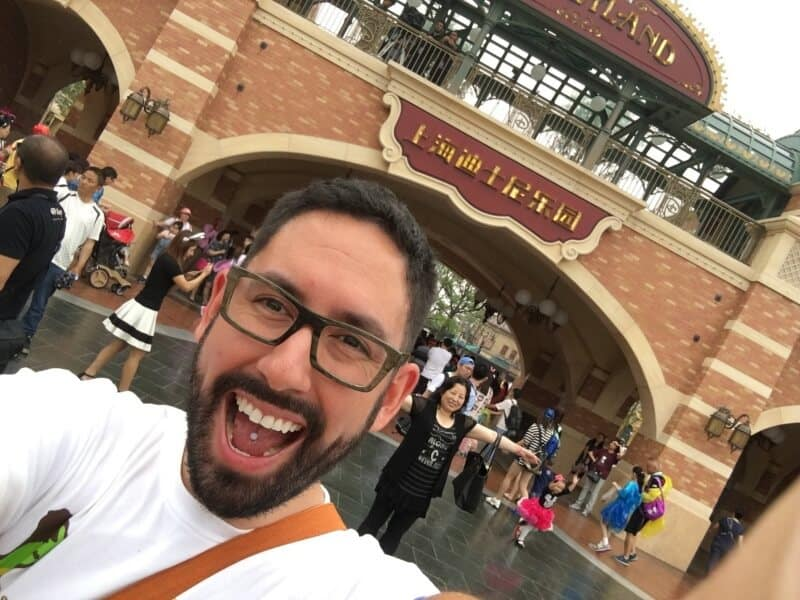 First Moments in Shanghai Disneyland Park