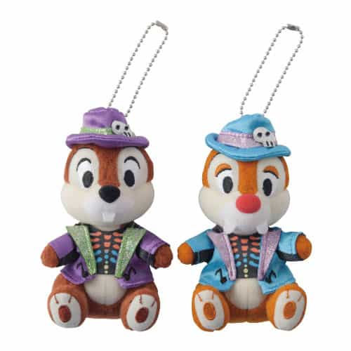 Chip n Dale Stuffed Badge Set ¥2,800