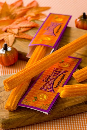 Churros (Maple Pumpkin) ¥310 Available at the following locations Parkside Wagon Lite Bite Satellite Please note during this time Mickey Churros (Cinnamon & Strawberry) will not be offered