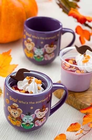 Purple Sweet Potato Mousse with Souvenir Cup ¥880