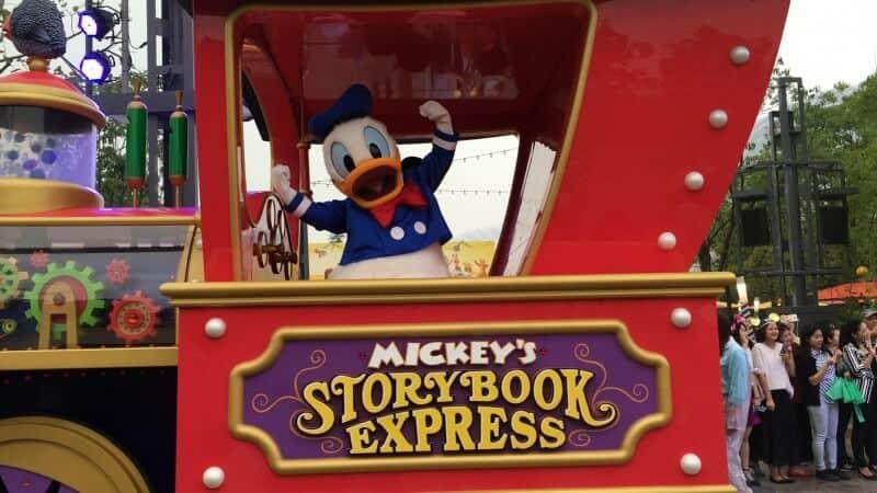 Mickey's Storybook Express Shanghai Disneyland