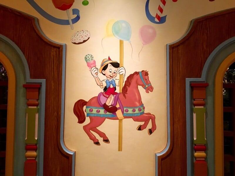 Pinocchio Village Kitchen Artowkr Shanghai Disneyland