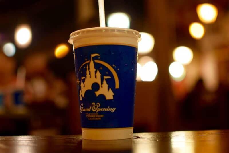 Shanghai Disneyland Grand Opening Cup Design