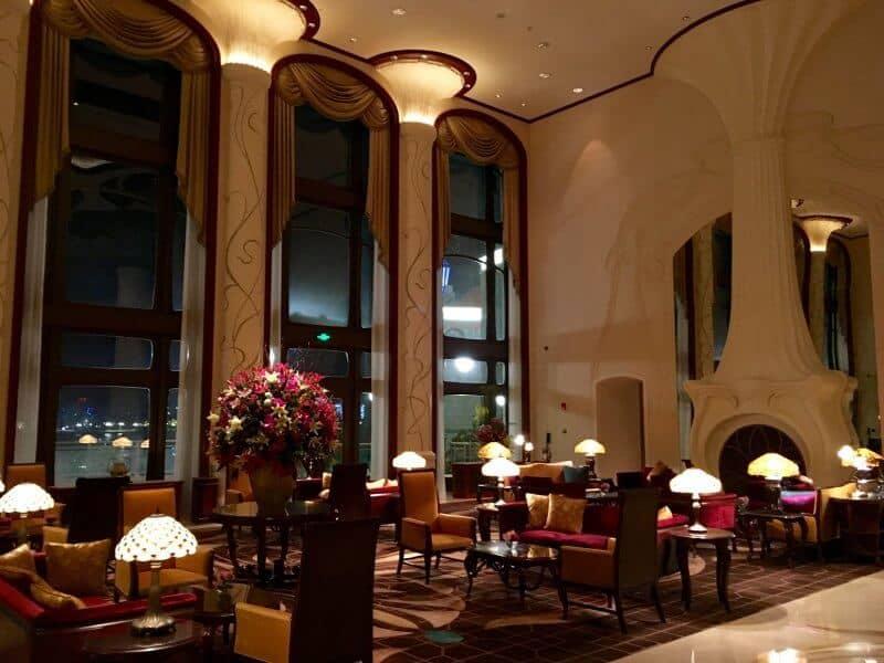 Shanghai Disneyland Hotel Lobby Evening Grand Opening