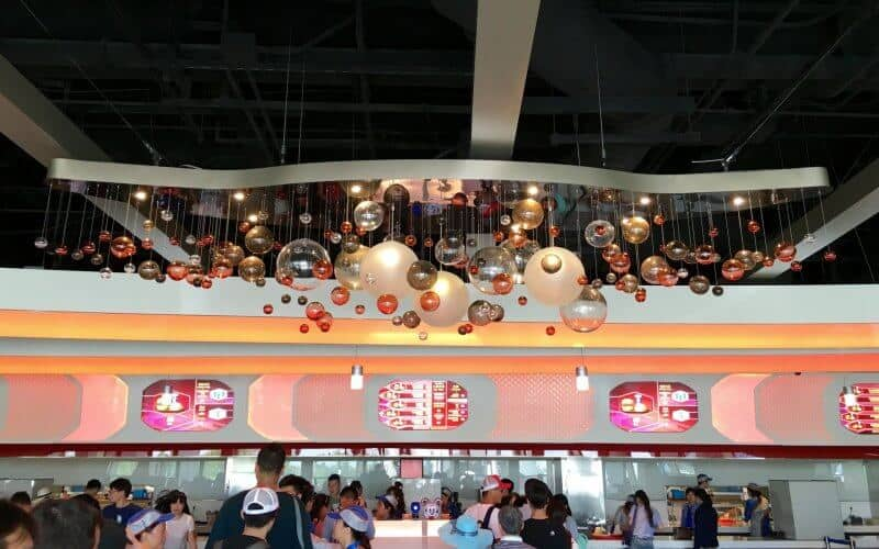 Stargazer Grill Interior Shanghai Disneyland Grand Opening