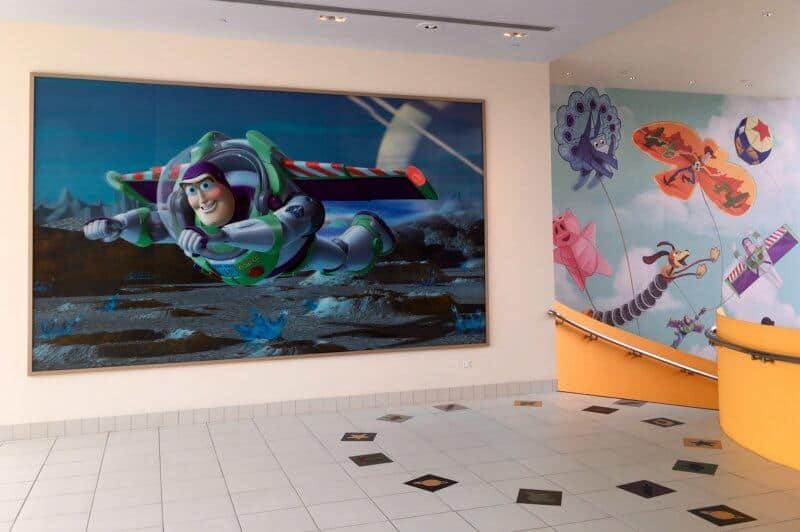 Toy Story Hotel Lobby Shanghai Disneyland Grand Opening