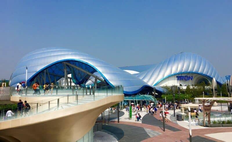 TRON Daytime Tomorrowland Shanghai Disneyland Grand Opening