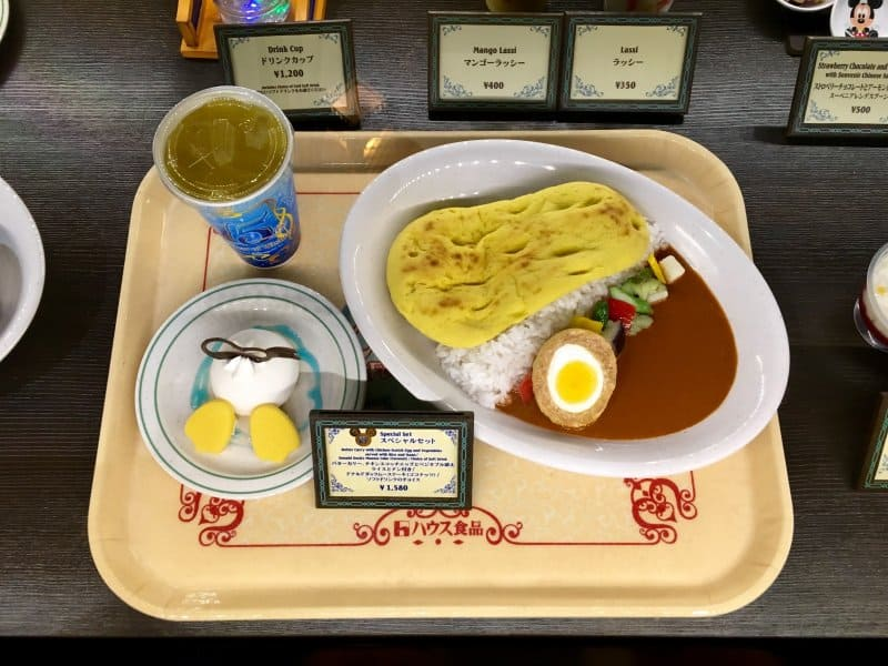 15th Anniversary Special Curry Set Tokyo DisneySea