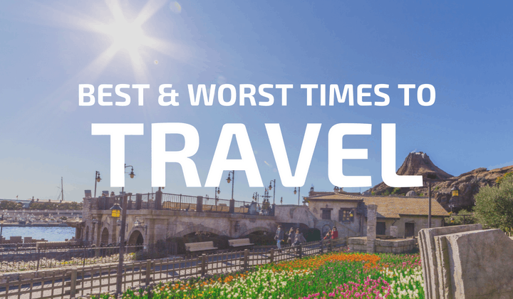 Best and Worst Times to Travel to Tokyo Disney Resort