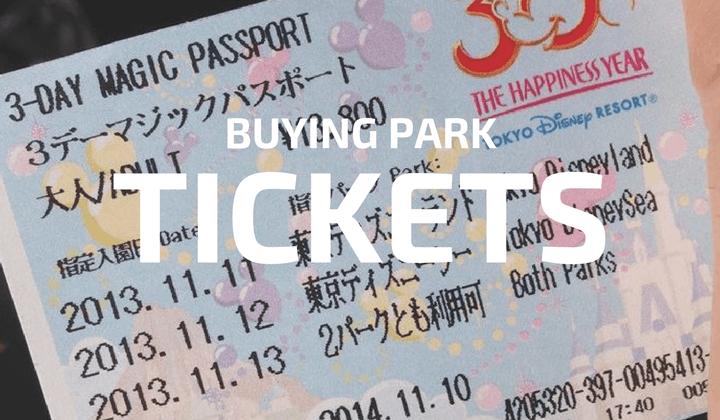 Buying Park Tickets Tokyo Disneyland