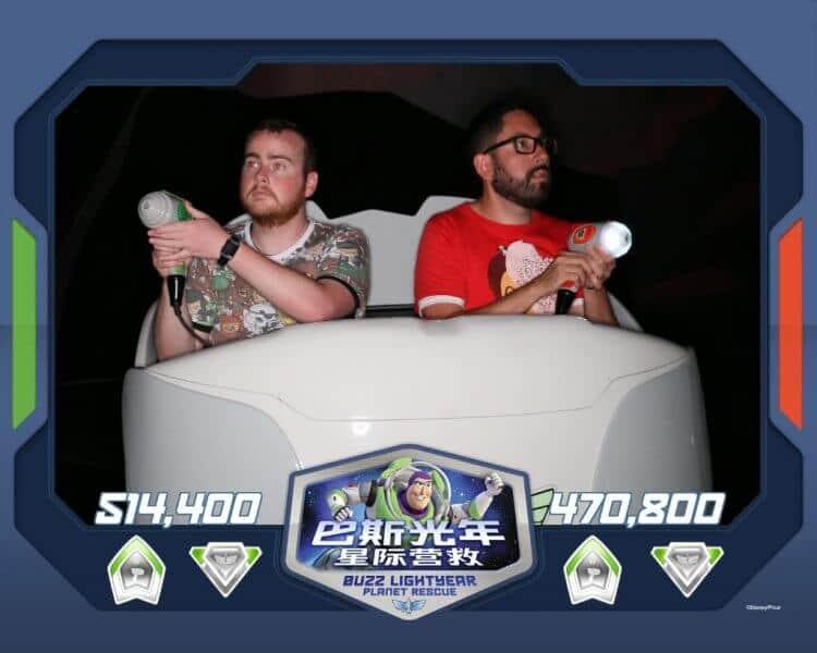 Buzz Lightyear Shanghai Disneyland