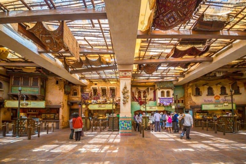 Casbah Food Court Ordering Tokyo DisneySea