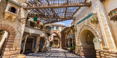 Casbah Food Court Review at Tokyo DisneySea