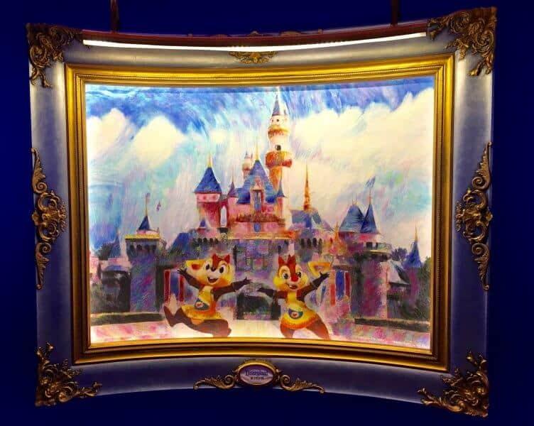 Chip N Dale Portrait Shanghai Disneyland