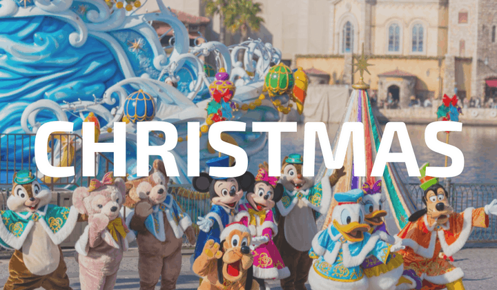 Christmas at Tokyo Disneyland DisneySea