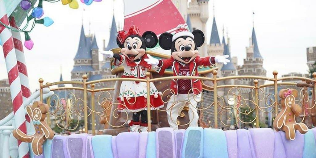 Tokyo Disneyland & Tokyo DisneySea Christmas 2016 Details