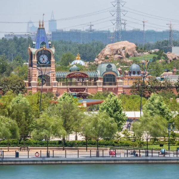 Front Gates of Shanghai Disneyland