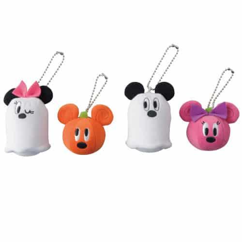 Pumpkin & Ghost Key Chain Set ¥1,800