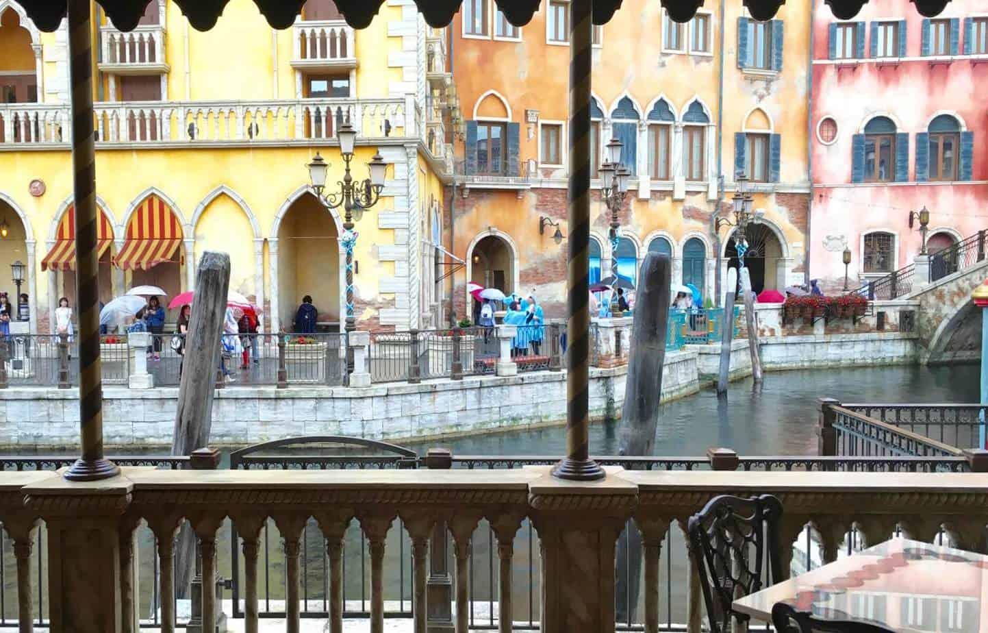 Ristorante Di Canaletto Tokyo DisneySea Outdoor Seating