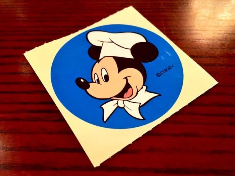 Ristorante Di Canaletto Tokyo DisneySea Sticker Front