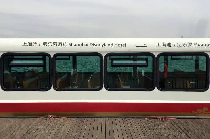 Shanghai Disneyland Ferry