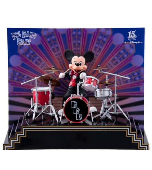 Mickey Big Band Beat Figure ¥10,000