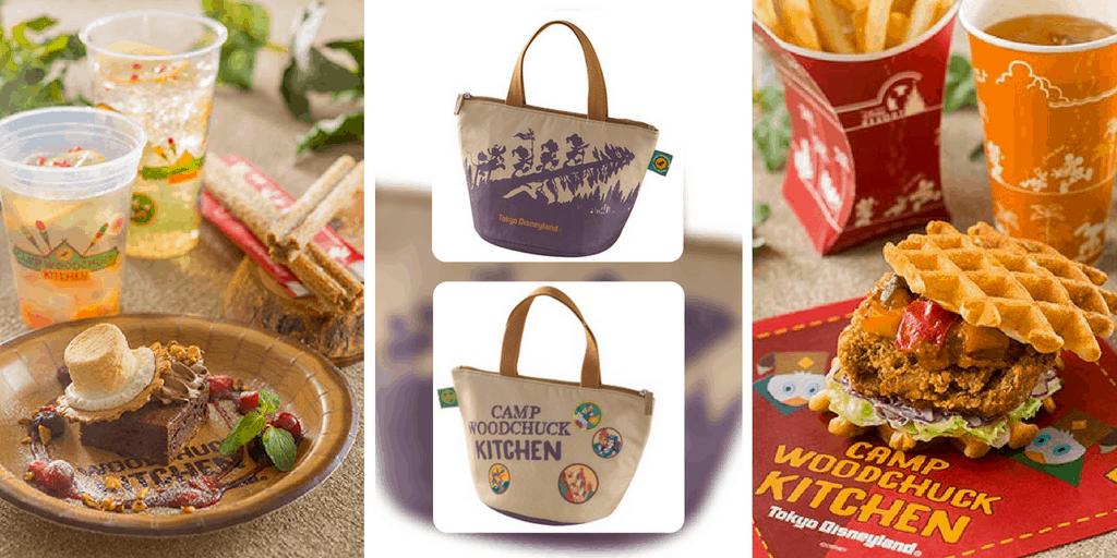 Camp Woodchuck Kitchen Food Menu Revealed